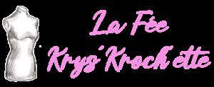 logo feekryskrochette buste rose