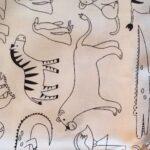 Animaux du zoo (tissus à colorier)