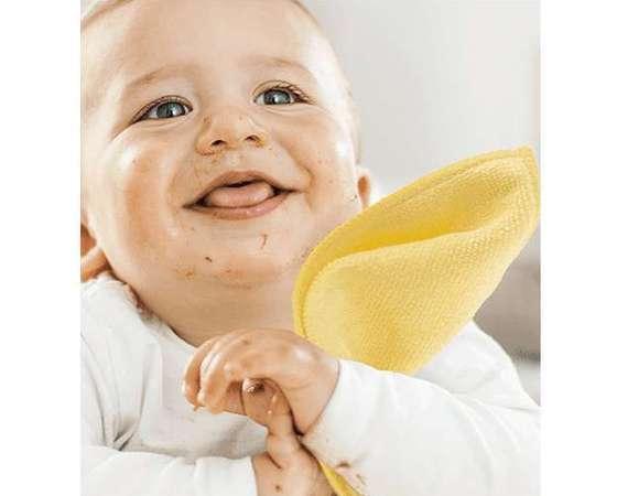 bébé heureux lingettes lavables