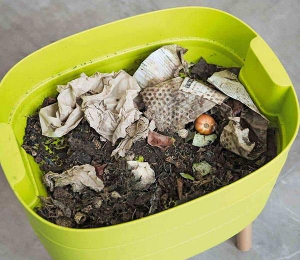 composter les restes de déchets